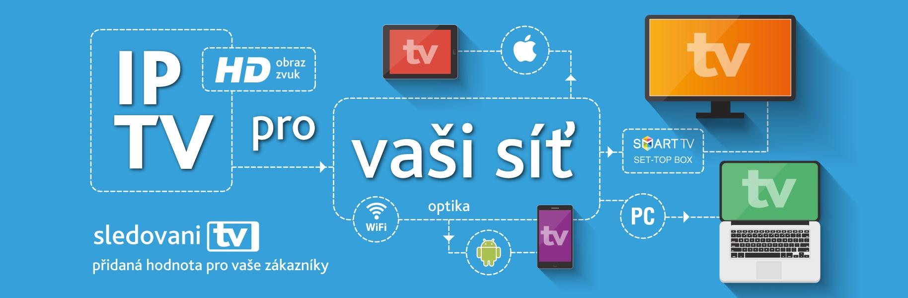 Vodafone nabízí mobilní televizi svým zákazníkům (IPTV)