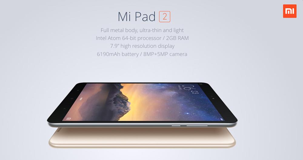 Xiaomi Mi Pad 2 – kov, silný procesor i USB typu C [sponzorovaný článek]