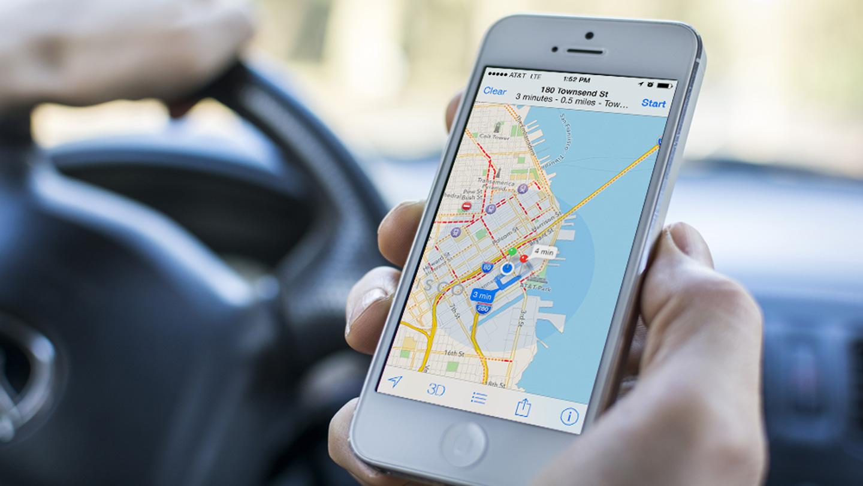 Apple Mapy na iOS používá třikrát více uživatelů, než mapy od Googlu