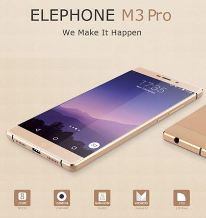 Elephone M3 Pro – výkonný čínský stroj v kovovém kabátku