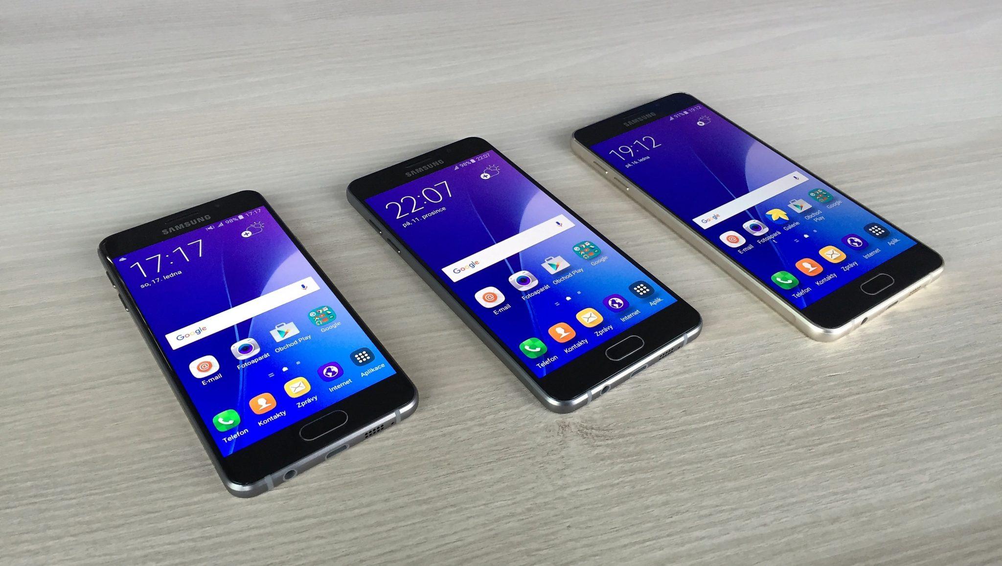 Samsung připravuje Galaxy A9 Pro