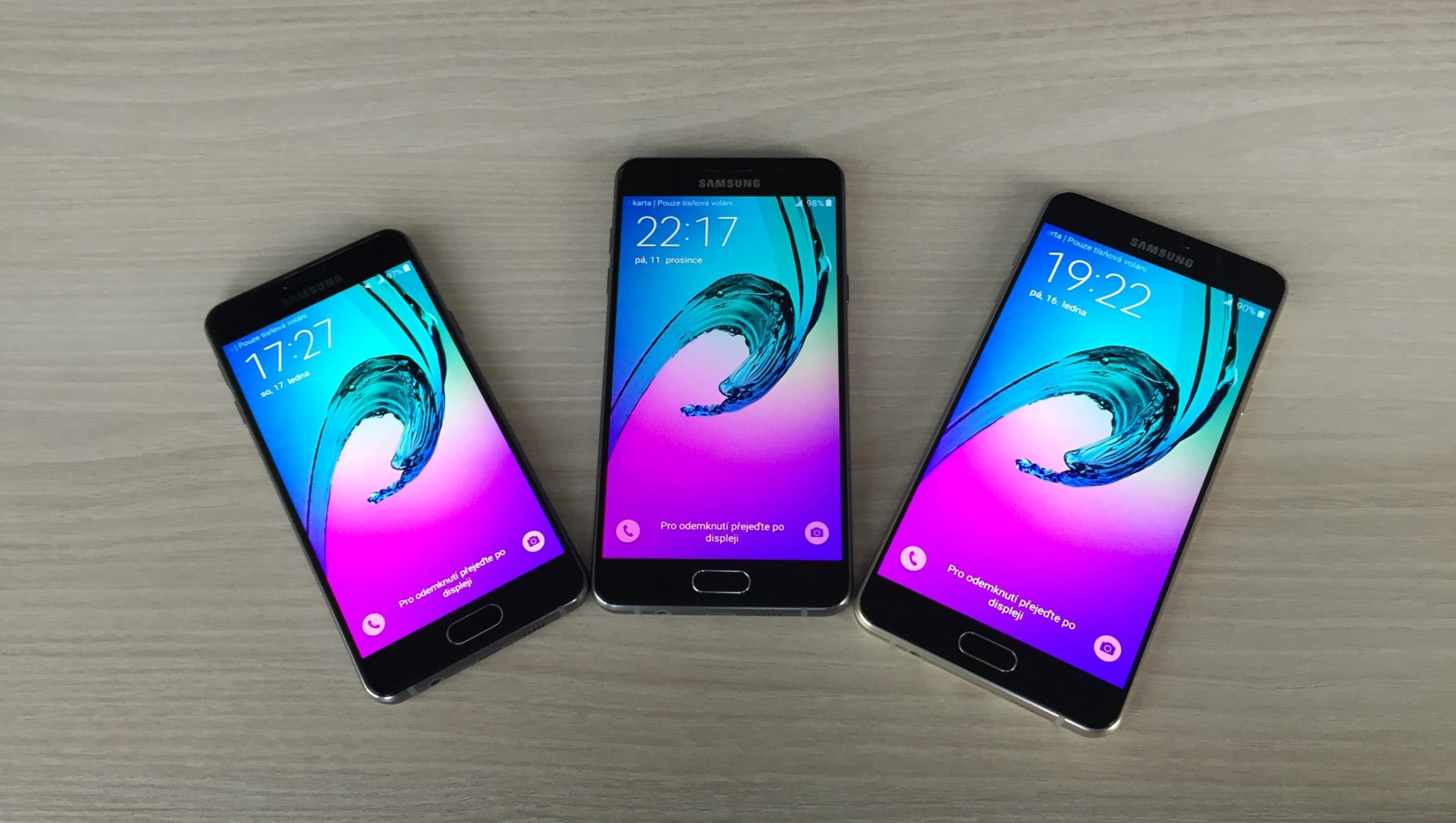 Galaxy C jako nová střední třída od Samsungu