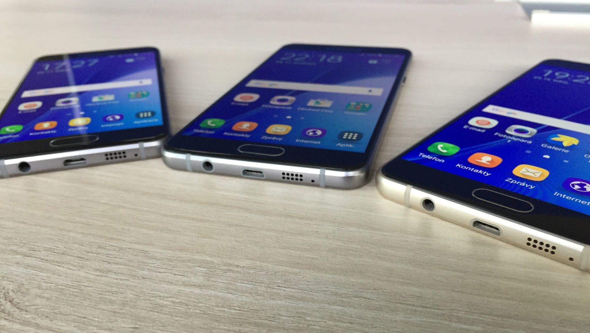 Samsung připravuje model Galaxy A7 (2018)