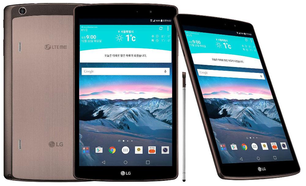 LG oficiálně uvedlo G Pad II 8.3 LTE se stylusem