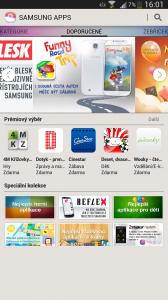 Samsung Galaxy Mega -  Samsung Apps