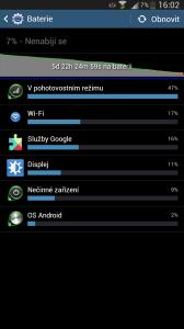 Samsung Galaxy Mega - Výdrž