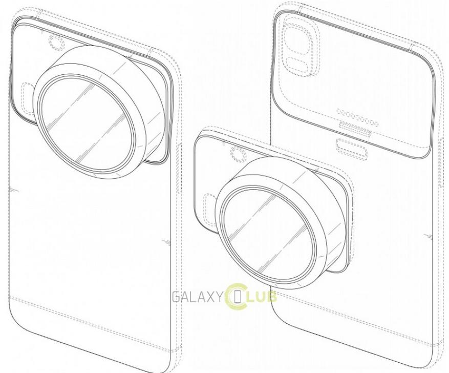 Samsung a nové patenty pro budoucí telefony