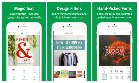 Adobe Post – nová aplikace pro vytváření grafiky