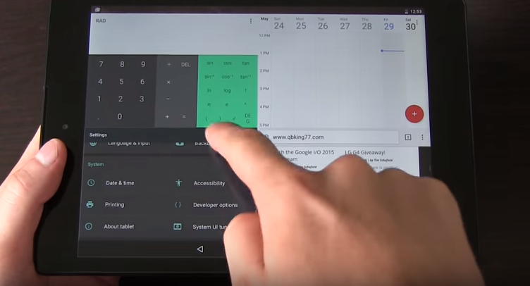 Android N získá vylepšený multitasking