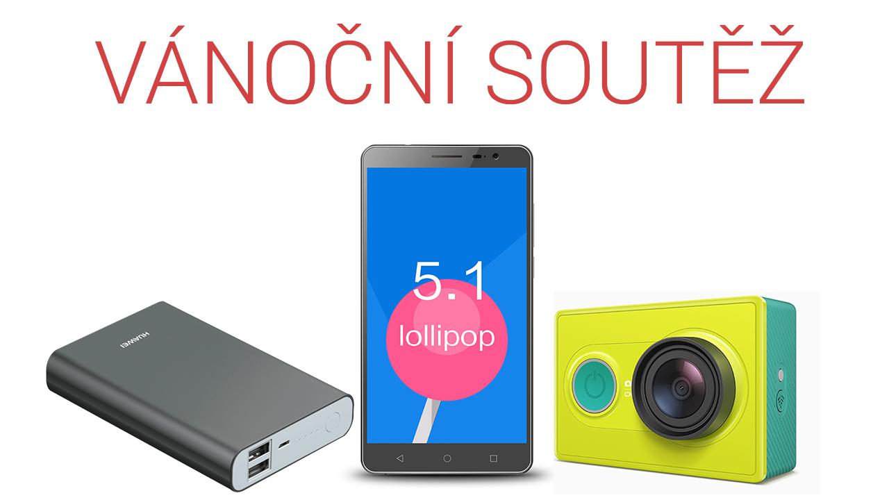 [Vyhlášení] Vánoční soutěž o smartphone, powerbanku a outdoorovou kameru