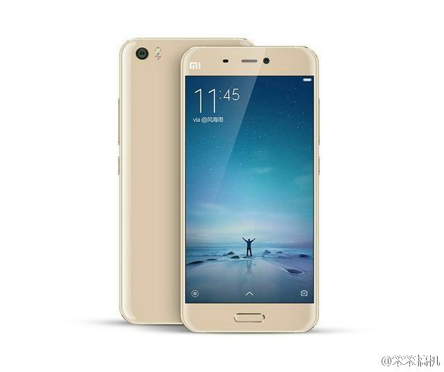 Rendery ještě oficiálně nepředstaveného modelu Xiaomi Mi 5
