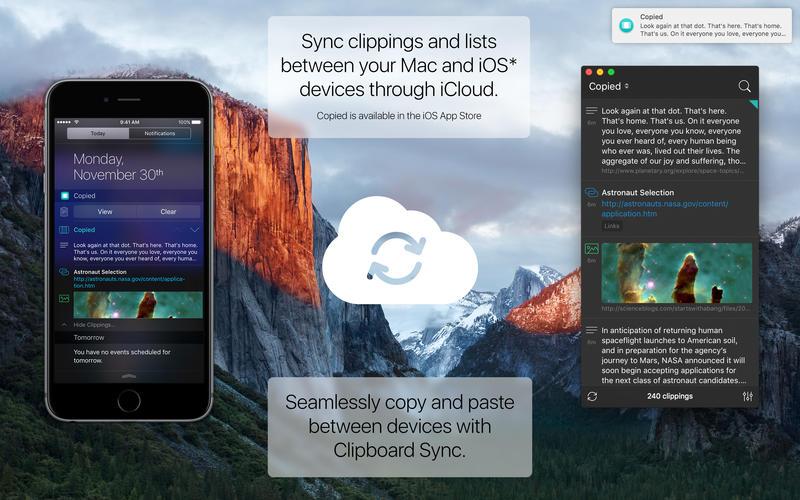 Copied – manažer kopírování pro iOS
