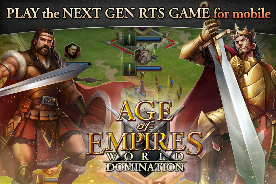 Age Of Empires: World Domination přichází na iOS a Android