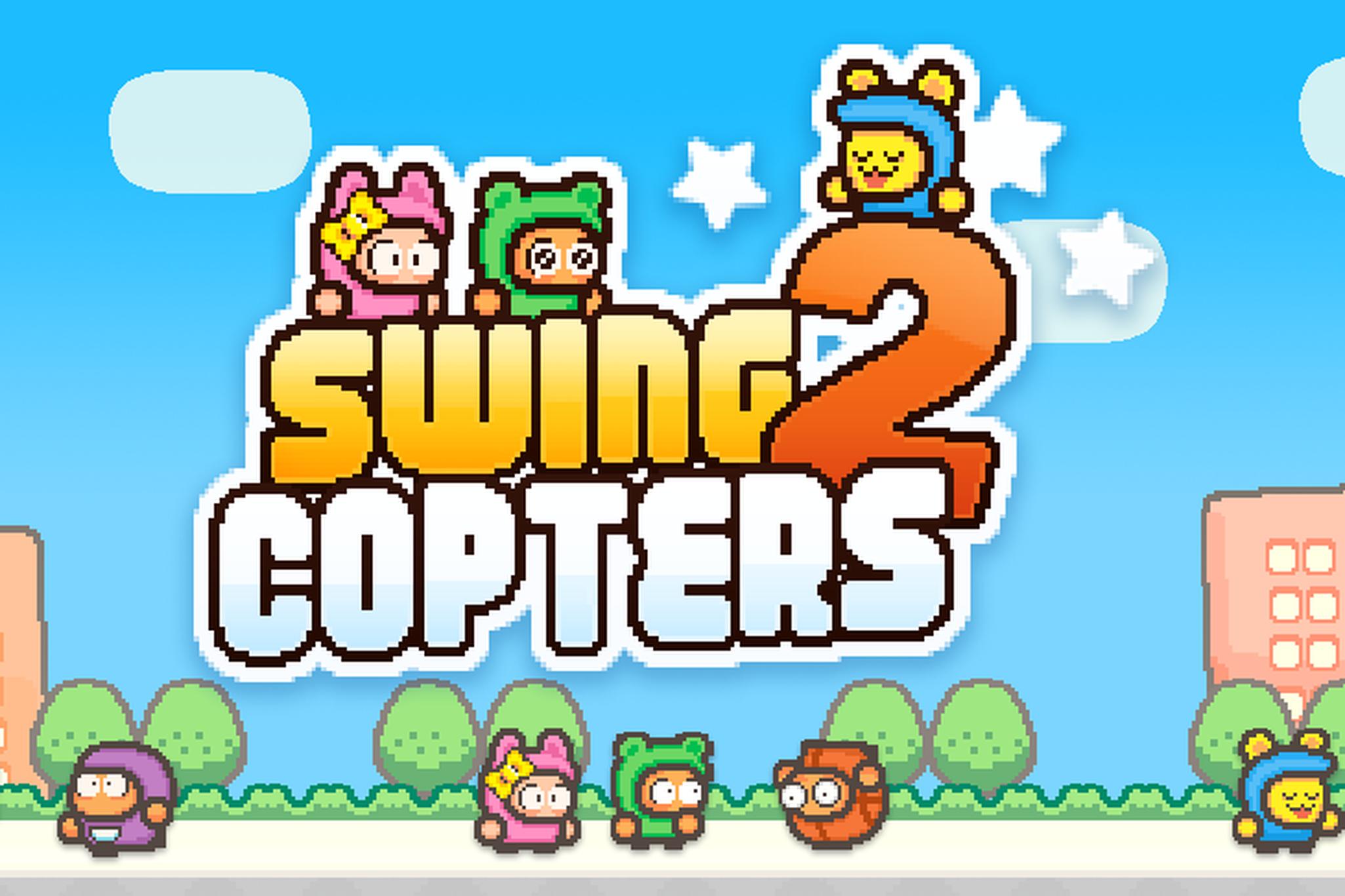 Druhý díl Swing Copters [aktualizováno]