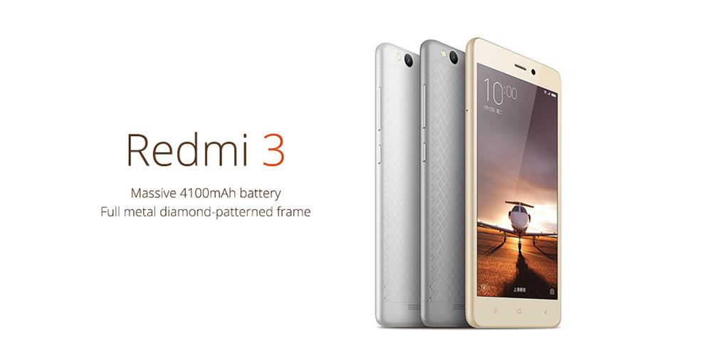 XiaoMi Redmi 3 v předprodeji s lákavou cenou [sponzorovaný článek]