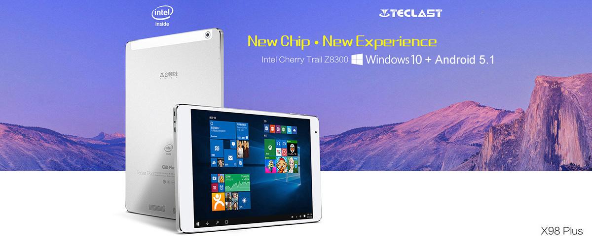 Teclast X98 Plus – dva systémy, velká baterka a 4GB RAM [sponzorovaný článek]