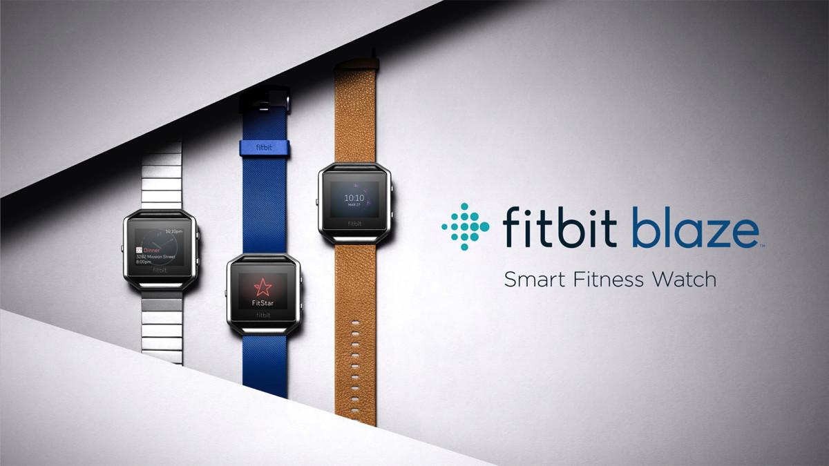Fitbit Blaze – první chytré hodinky na fitness