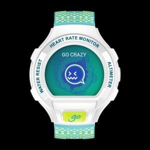 Go Watch_Packshot_Lime Green & Blue_Front_Emotion