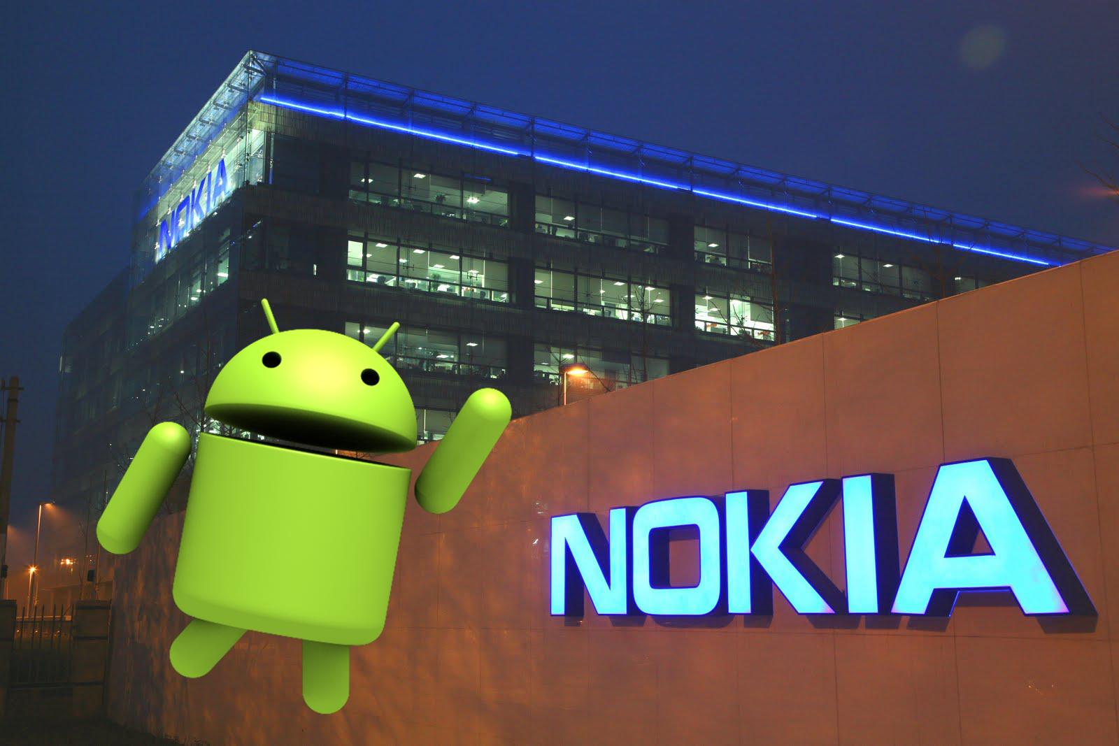 Kovová Nokia na uniklé fotografii, pravděpodobně jde o chystaný model s Androidem