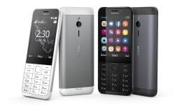 V ČR se začíná prodávat tlačítková Nokia 230 z hliníku