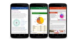 Word, Excel a PowerPoint pro Android dostávají nové funkce