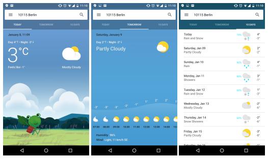Google nasazuje nový vzhled počasí [aktualizováno]
