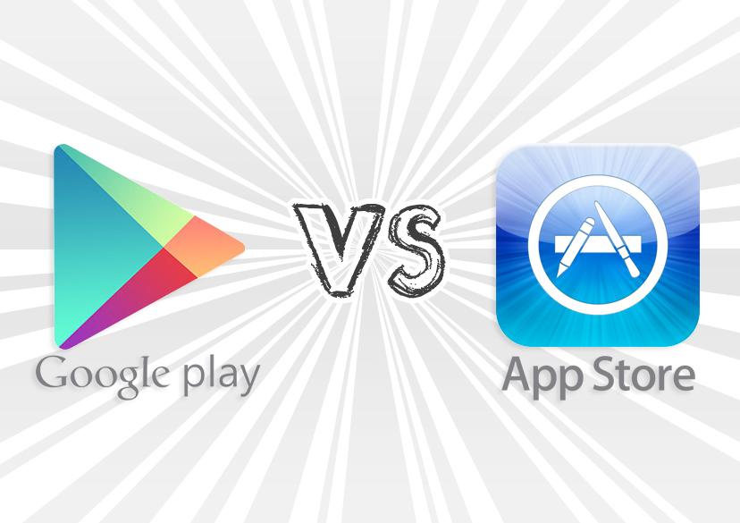 Google Play má 2x více stažení aplikací a her než App Store
