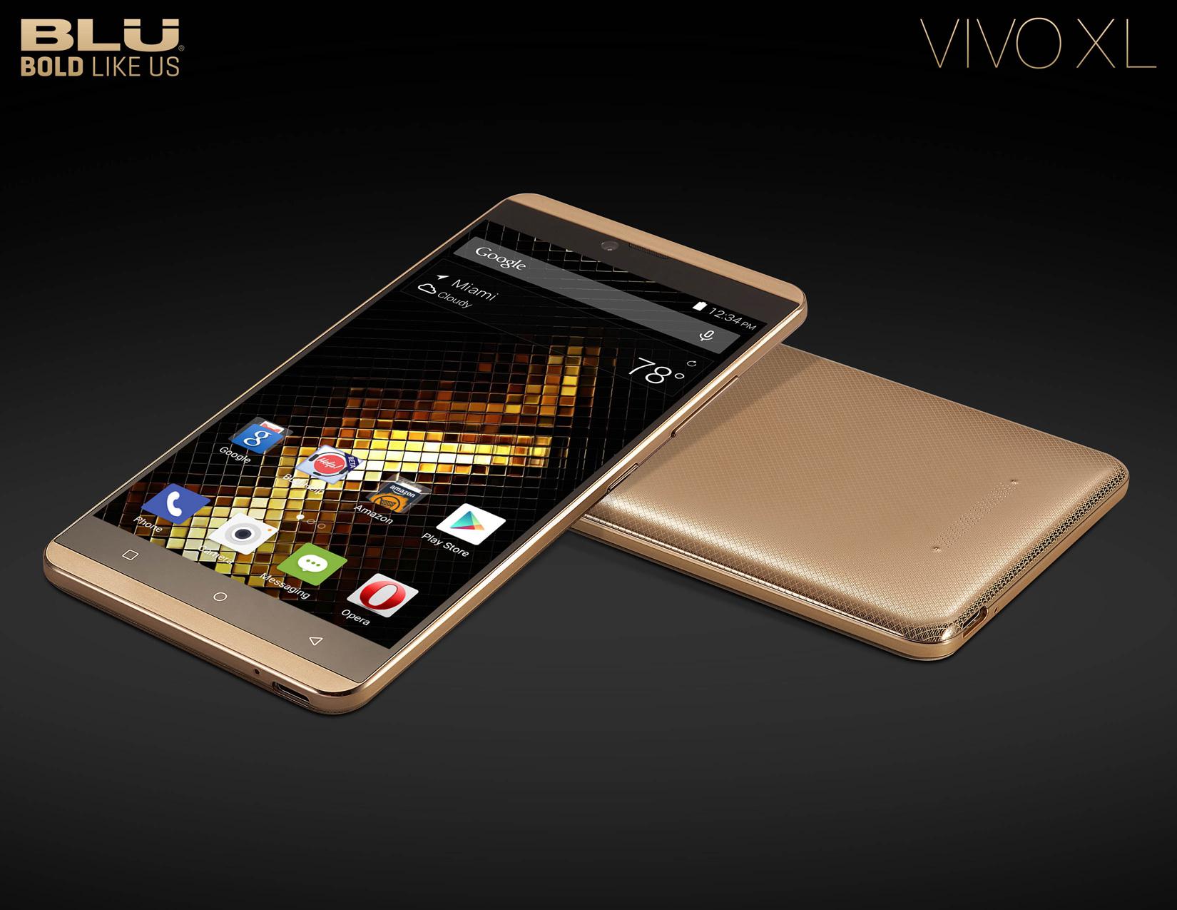 Blu představilo dvě nová zařízení – VIVO 5 a VIVO XL