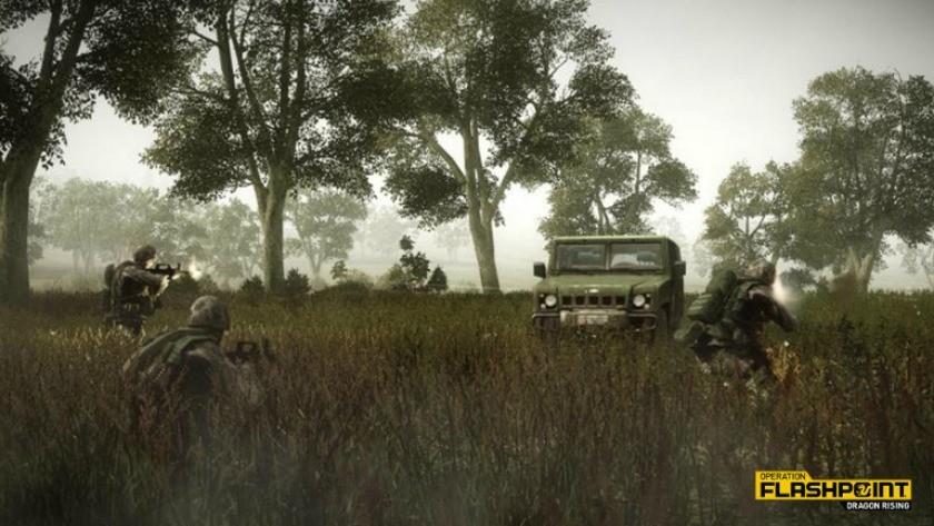 Operation Flashpoint: Dragon Rising – dostupná pro Nvidia Shield