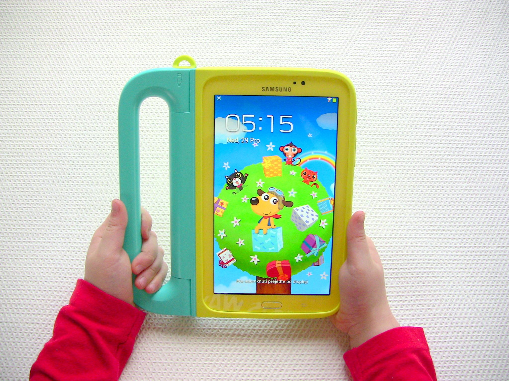Recenze tabletu pro děti – Samsung Galaxy Tab 3 Kids