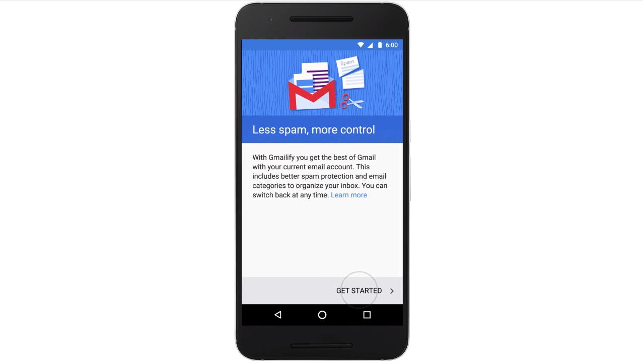 Gmailify – to nejlepší od Gmailu i bez adresy @gmail.com