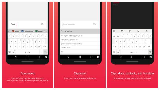 Už 4. klávesnice od Microsoftu, tentokrát pro Android
