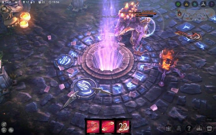 Zničený Vain crystal
