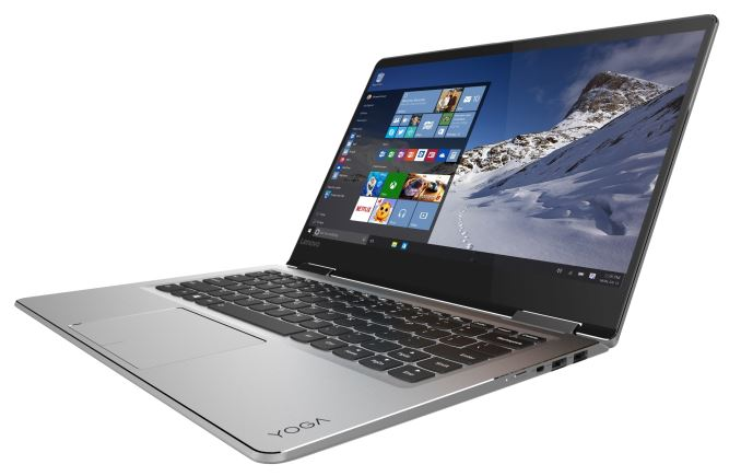 YOGA 710 (14-inch) in silver_laptop mode_575px