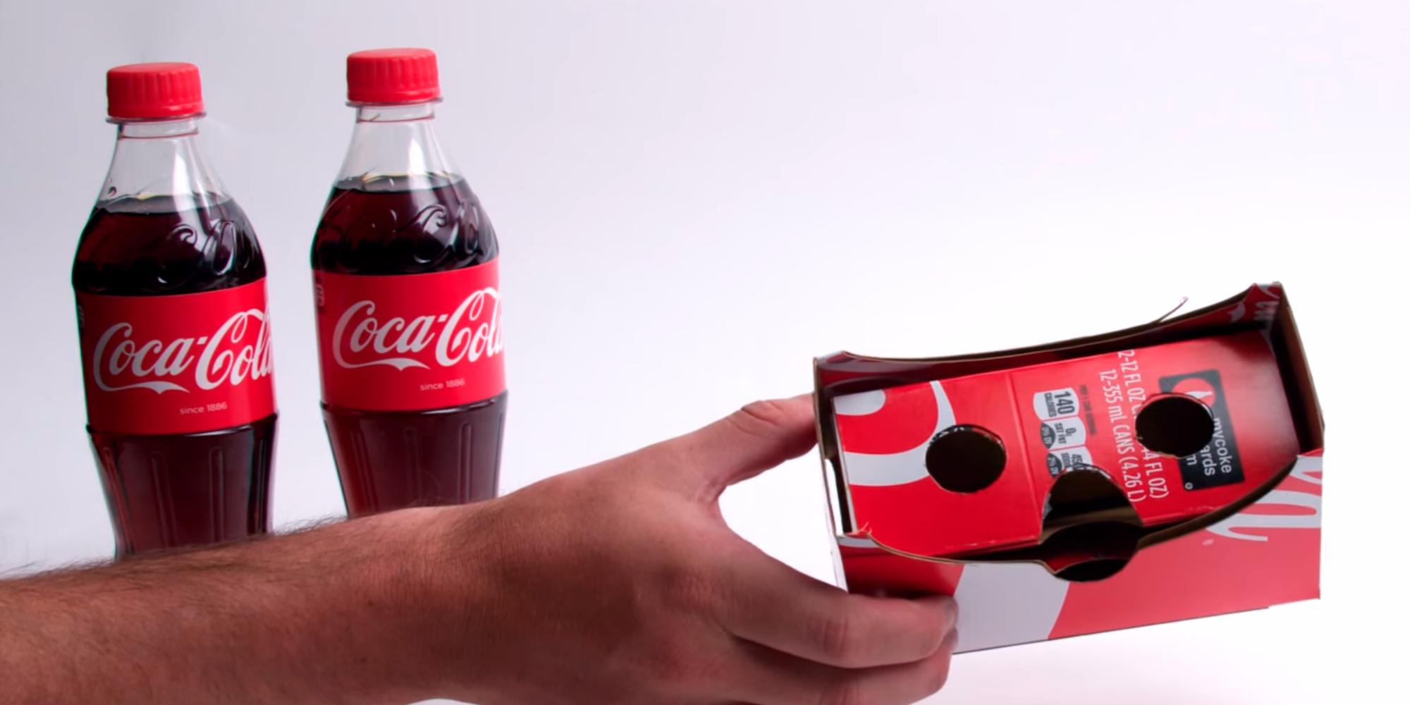 Coca Cola plánuje prodávat balení, ze kterého lze seskládat cardboard