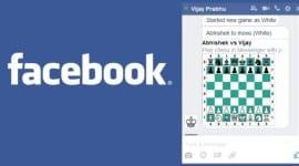 V Messengeru si můžete zahrát šachy