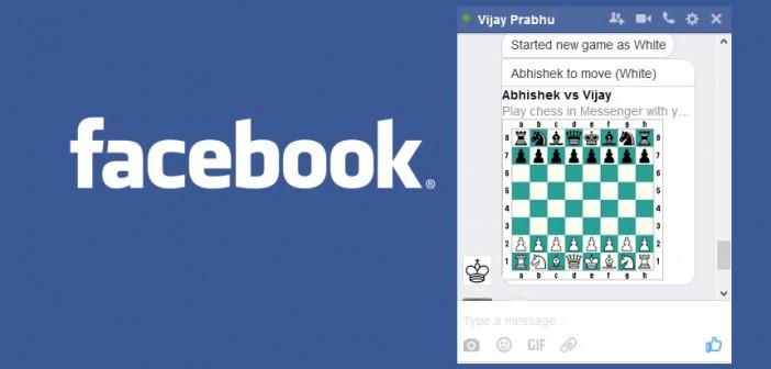 obrázok Šachov v chate na messengeri