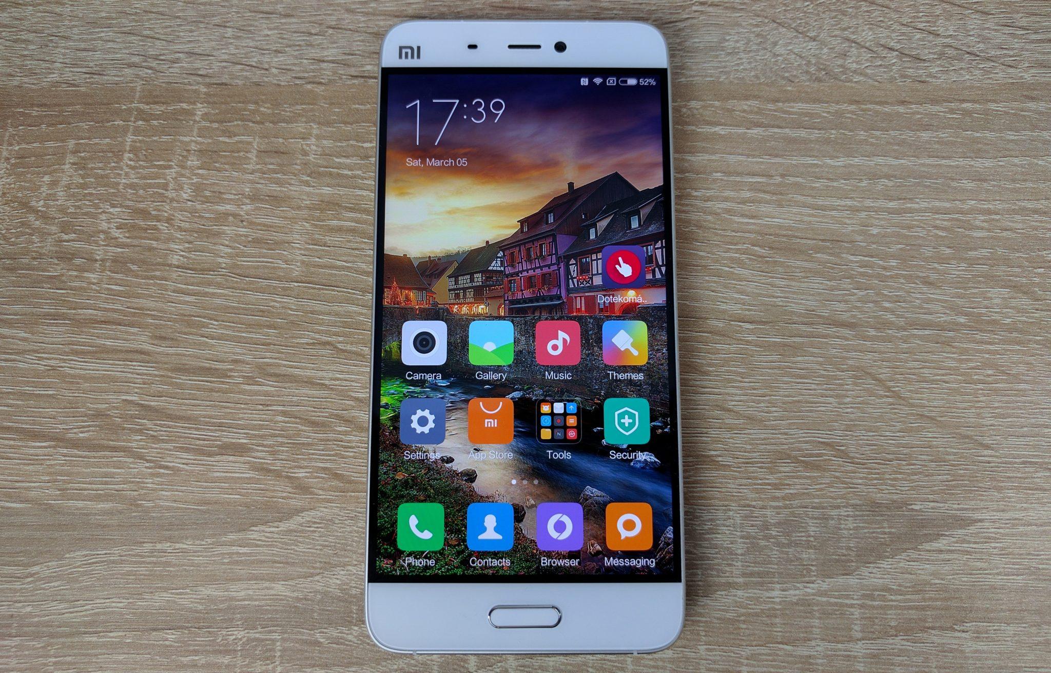 Xiaomi Mi5 – videopohled