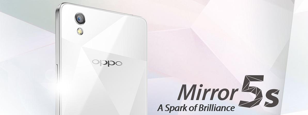OPPO Mirror 5s – 2 GB RAM, LTE a příznivá cena [sponzorovaný článek]