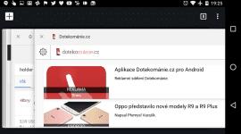 Chrome – sloučení karet a aplikací jde na druhou kolej