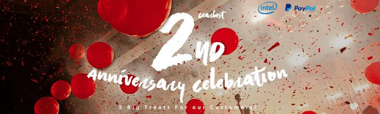 2nd Anniversary Sale