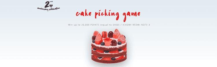 2nd Anniversary Sale Cake Game