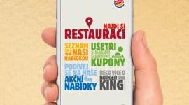 BURGER KING přináší mobilní aplikaci do České republiky