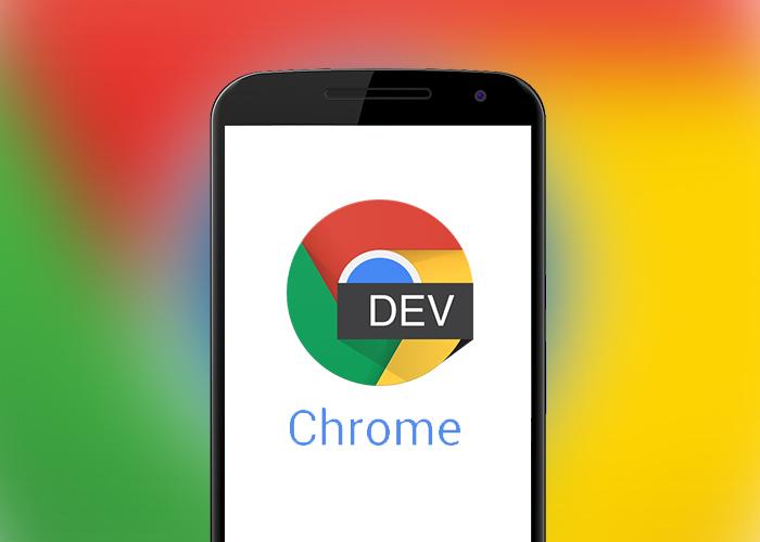 Chrome Dev 53 přináší barevné taby
