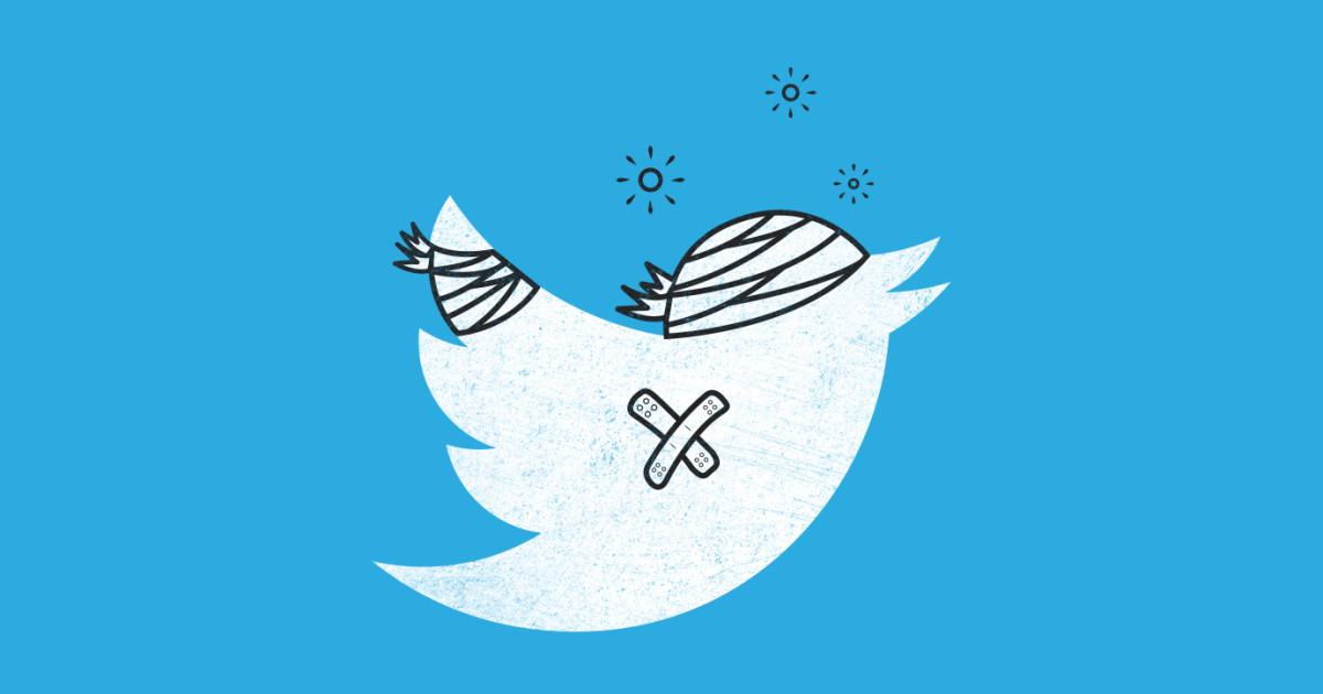 Twitter údajně pozastavuje účty pro nevhodné tweety