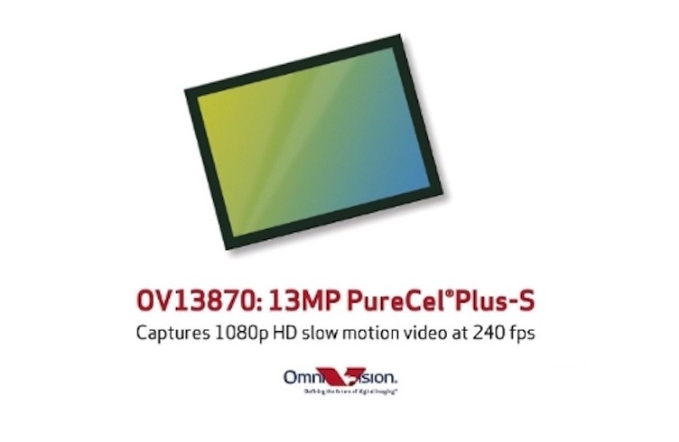OmniVision nabízí výrobcům nový 13MPx senzor PureCel Plus-S