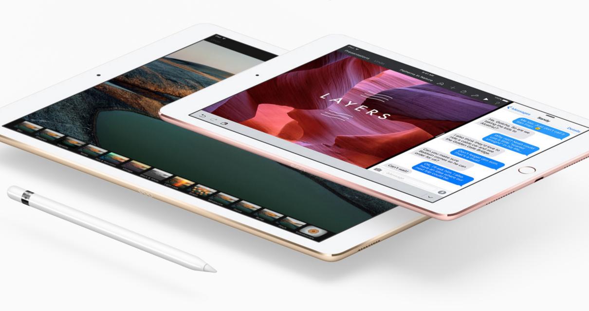 Nový iPad Pro (9,7) má menší výkon než větší iPad Pro (12,9)