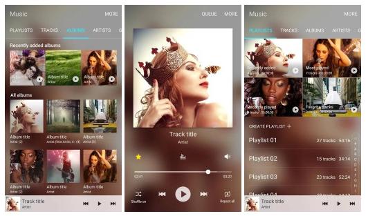 Samsung vydává svou hudební aplikaci do Obchodu Play
