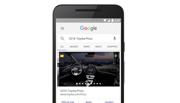 Google – do vyhledávání míří nový formát reklamy
