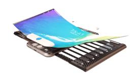Koncept smartphonu s flexibilním displejem [zajímavost]